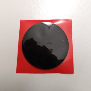NFC PVC Soft Sticker, schwarz